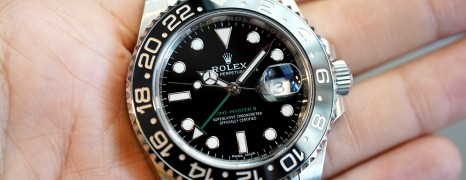 Rolex GMT-Master II Black Ceramic Green Hand 40 mm REF.116710LN