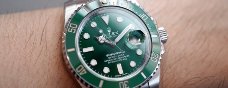 Rolex Submariner Date Green Ceramic 116610LV 40 mm (The Hulk) 09/2018