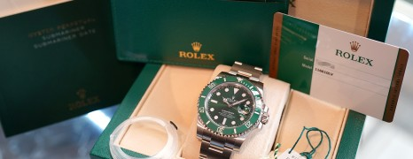Rolex Submariner Date Green Ceramic 116610LV 40 mm (The Hulk) (NOS Full Sticker 08/2018)