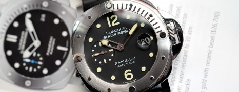 Panerai 1024 Luminor Submersible Automatic 44 mm S.T (03/2018)