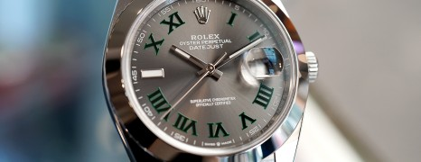 Rolex Datejust 41 Slate Grey Roman Dial 41 mm Ref.126300 (07/2018)
