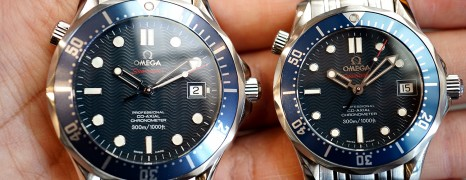 Omega Seamaster 300M Automatic Co-Axial Blue Dial 36.25/41 mm