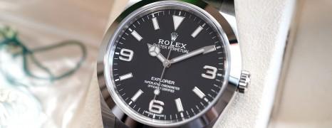 Rolex Explorer I 39 mm Ref.214270 (New 06/2019)