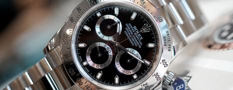 Rolex Cosmograph Daytona Black Dial 40 mm REF.116520