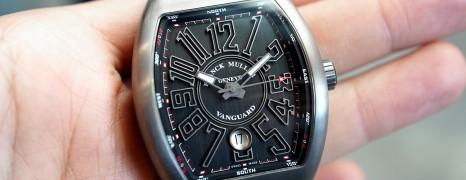 Franck Muller Vanguard Titanium Black Dial 41 mm Ref.V 41 SC DT TT BR NR