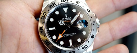 Rolex Explorer II Orange Hand Black Dial 42 mm Ref.216570 (New 06/2019)