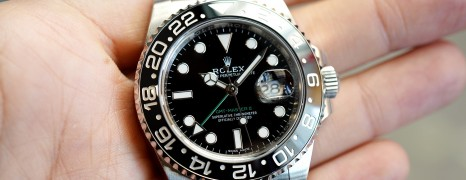 Rolex GMT-Master II Black Ceramic Green Hand 40 mm REF.116710LN (09/2018)