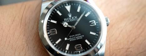 Rolex Explorer I 39 mm Ref.214270 (ใบไทย Fullset ปี 2010)