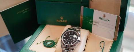 Rolex Datejust 41 Black Dial 41 mm Ref.126300 (NEW 06/2019)