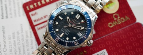 Omega Seamaster 300M Automatic Co-Axial Blue Dial 36.25 mm