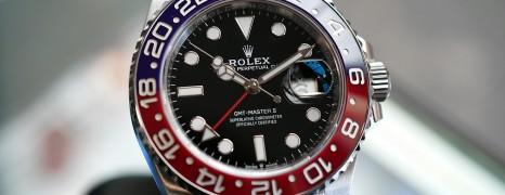 Rolex GMT-Master II Pepsi Jubilee 40 mm Ref.126710BLRO (05/2019)