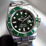 Rolex Submariner Date Green Ceramic 116610LV 40 mm (The Hulk) 07/2017