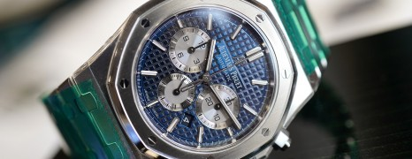 Audemars Piguet Royal Oak Chronograph Blue Panda 41 mm REF.26331ST.OO.1220ST.01