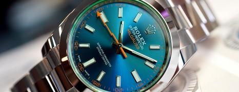 Rolex Milgauss Z-Blue Dial 40 MM Ref. 116400GV (04/2019)