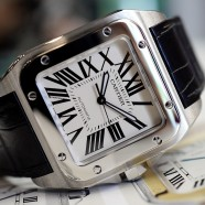 Cartier Santos 100 XL 38 mm (Discon Model)