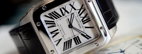 Cartier Santos 100 XL 38 mm (Discon Model)