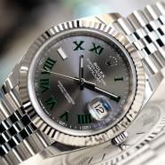 Rolex Datejust 41 Jubilee Slate Grey Roman (Wimbledon) Dial 41 mm Ref.126334 (NEW Thai AD 07/2019)