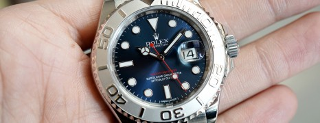 Rolex Yacht-Master Blue Sunray Dial 40 mm Ref.116622 (NEW 07/2019)
