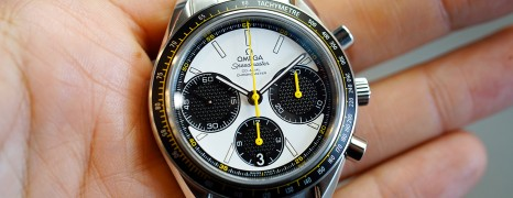Omega Speedmaster Racing Co-Axial Automatic Chronograph White Dial 40 mm (Thai AD 12/2018)