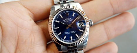 Rolex Datejust Jubilee Blue Dial 31 mm REF.178274 (NEW Thai AD 07/2019)