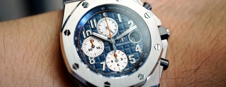 AP Audemars Piguet Royal Oak Offshore Chronograph Royal-Blue Dial 42 mm Ref.26470ST.OO.A027CA.01