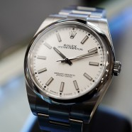 Rolex Oyster Perpetual White Dial 39 mm REF.114300 (NEW 04/2019)