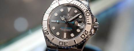 Rolex Yacht-Master Dark Rhodium Dial 37 mm Ref.268622 (NEW 09/2018)