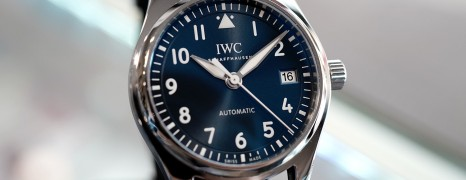 IWC Pilot's Watch Automatic Blue Dial 36 mm Ref.IW324008 (Thai AD 12/2018)