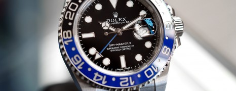 Rolex GMT-Master II Black Dial Black Blue Ceramic REF.116710BLNR (Batman) (Thai AD 04/2016)