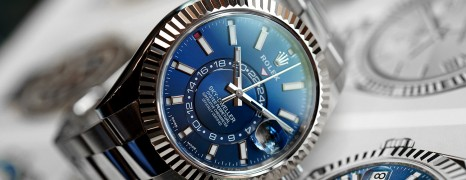 Rolex Sky-Dweller Blue Dial 42 mm Ref.326934 (06/2018)