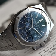 Audemars Piguet Royal Oak Chronograph Boutique Blue Dial 41 mm REF.26320ST.OO.1220ST.03