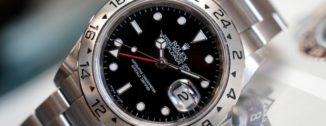 Rolex Explorer II Black Dial Red Hand 40 mm Ref.16570 (Series V)