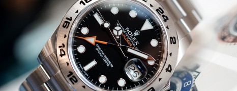 Rolex Explorer II Orange Hand Black Dial 42 mm Ref.216570 (04/2015)
