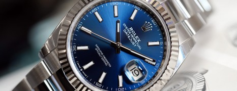 Rolex Datejust 41 WhiteGold Bezel Blue Dial 41 mm Ref.126334 (Thai AD 08/2019)