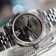 Rolex Datejust Bronze Roman Dial VI Diamonds 31 mm REF.178274 (03/2016)