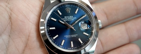Rolex Datejust 41 Jubilee Blue Dial 41 mm Ref.126300 (12/2018)