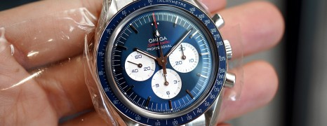 Omega Speedmaster Olympic Games Collection Tokyo 2020 Blue Dial 42 mm (NEW 12/2018)