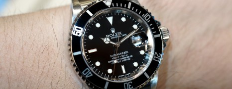 Rolex Submariner Date Film Black Dial 40 mm Ref.16610 (Series Random 2010)