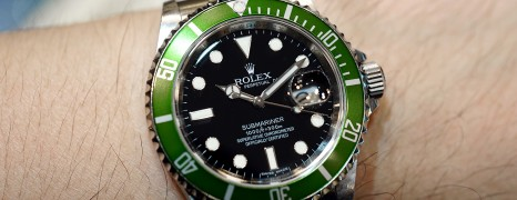"Rolex Submariner 50th Anniversary ""The Kermit"" (Series M 12/2008)"