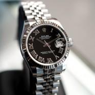 Rolex Datejust Jubilee Black Roman Dial 31 mm REF.178274 (10/2017)