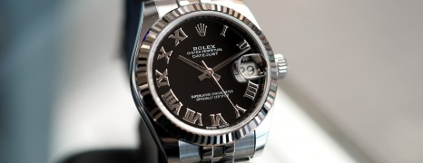 Rolex Datejust Jubilee Black Roman Dial 31 mm REF.178274 (10/2017)
