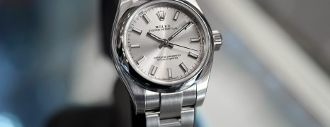 Rolex Oyster Perpetual Lady Silver Dial 26 mm Ref.176200 (NEW 04/2019)