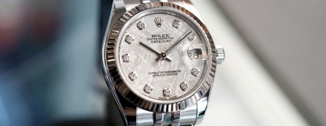 Rolex Datejust Jubilee Meteorite Diamond 31 mm REF.178274 (12/2014)