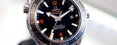 Omega Seamaster Planet Ocean Automatic Co-Axial 8500 Black Ceramic 45.5 mm