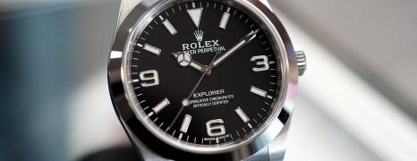 Rolex Explorer I 39 mm Ref.214270 (Fullset 06/2019)