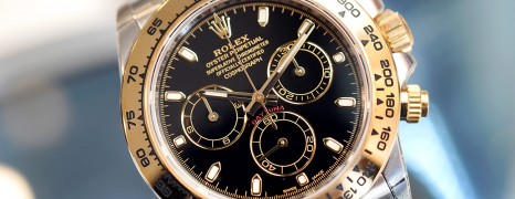 Rolex Cosmograph Daytona 2K Black Dial 40 mm REF.116503 (New 12/2018)