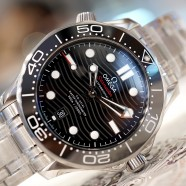Omega Seamaster Diver 300M Omega Master Co-Axial Black Dial 42 mm (New 09/2019)