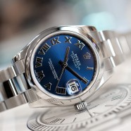 Rolex Datejust Blue Roman Dial Boy Size 31 mm REF.178240 (07/2017)