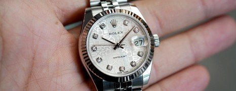 Rolex Datejust Jubilee Silver Com Diamond 31 mm REF.178274 (12/2015)