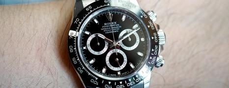 Rolex Cosmograph Daytona Ceramic Black Dial 40 mm Ref.116500LN (07/2018)